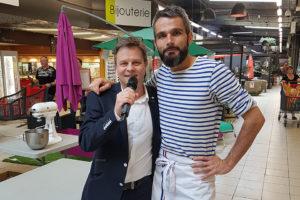Animation de galerie commerciale avec Jean-Pierre Le Meilleur Pâtissier M6